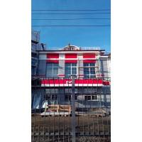Здание вокзала в с. Убинское Новосибирской области.